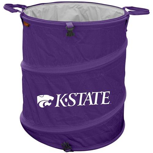 Logo™ Kansas State University Collapsible 3-in-1 Cooler/Hamper/Wastebasket
