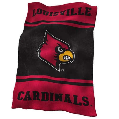 Logo™ University of Louisville Ultrasoft Blanket