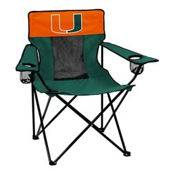 Logo™ University of Miami Elite Chair