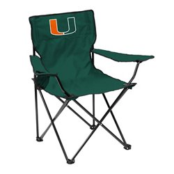 Logo™ University of Miami Quad Chair