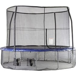 Adjustable Mesh Skirt for 12' and 14' Trampolines with Shoe Pockets