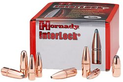 Hornady InterLock Round Nose Bullets