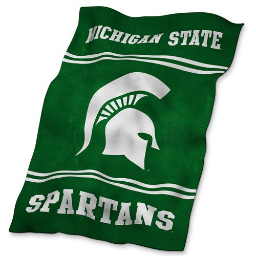 Logo™ Michigan State University Ultrasoft Blanket