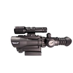 Tactical Weapon Illuminated Laser Sight with Light