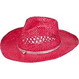 O'Rageous Girls' Hot Shimmer Cowboy Hat with Faux Leather Heart Rhinestone Band