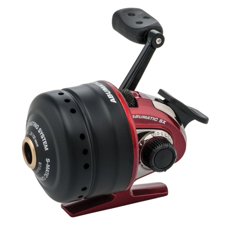Abu Garcia Abumatic SX 10 Spincast Reel Convertible, Standard - Spincast Reels at Academy Sports thumbnail