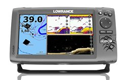 Lowrance HOOK-9 Mid/High DownScan Sonar/GPS Chartplotter Combo