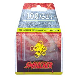 Swhacker 2-Blade Broadhead Replacement Bands 18-Pack