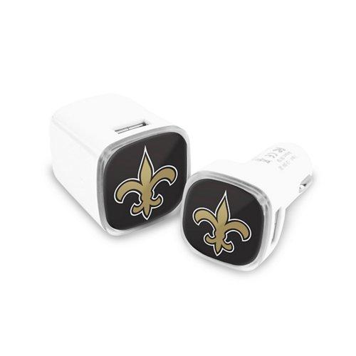 Mizco New Orleans Saints Chargers 2-Pack