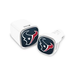 Mizco Houston Texans USB Chargers 2-Pack