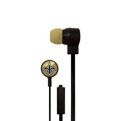 Mizco New Orleans Saints Big Logo Earbuds