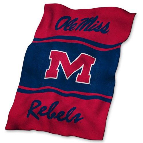 Logo™ University of Mississippi Ultrasoft Blanket