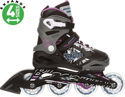 Rollerblade Girls' Bladerunner Phoenix Adjustable In-Line Skates