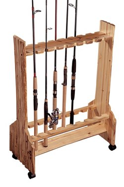 16-Rod Double-Sided Rolling Rod Rack