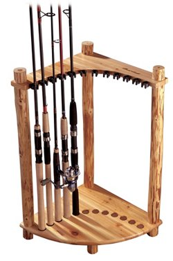 Rush Creek 12-Rod Corner Rack