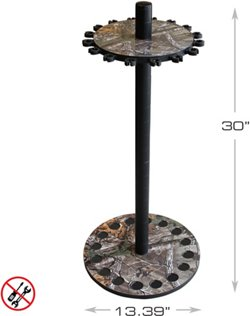 Realtree 16-Rod Round Rack