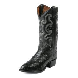 Men's Ostrich Exotics Western Boots