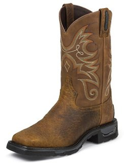 Men's Sierra Badlands TLX Waterproof Western Work Boots