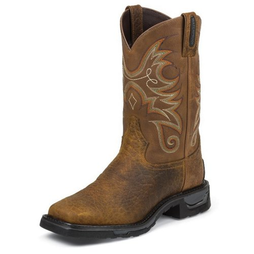 Tony Lama Men's Sierra Badlands TLX Waterproof Western Work Boots