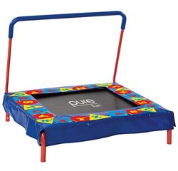 Kids' Preschool Jumper Trampoline with Handrail
