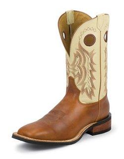 Tony Lama Men's Suntan Rebel Americana Western Boots
