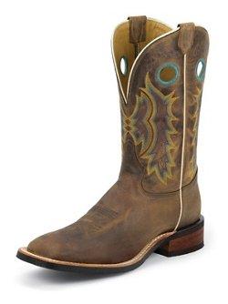 Men's Suntan Century Americana Western Boots