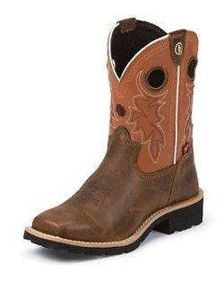 Tony Lama Kids' Comanche Buffalo 3R Western Boots