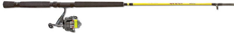 Mr. Crappie Slab Shaker 10′ L Freshwater Jig/Troll Spinning Rod and Reel Combo Yellow – Fishing Combos, Ultralight Combos at Academy Sports