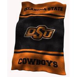 Logo™ Oklahoma State University Ultrasoft Blanket