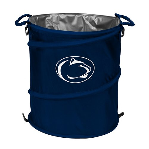Logo™ Penn State University Collapsible 3-in-1 Cooler/Hamper/Wastebasket