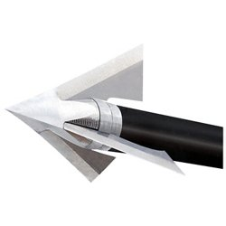 QAD Exodus Deep 6 100-Grain Broadheads 3-Pack