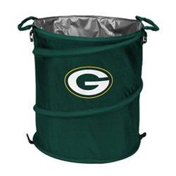 Logo™ Green Bay Packers Collapsible 3-in-1 Cooler/Hamper/Wastebasket
