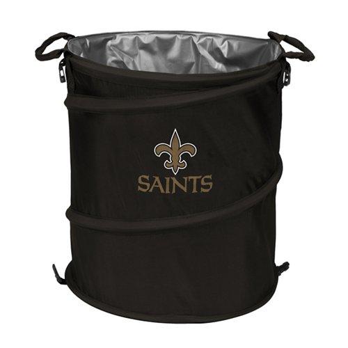 Logo™ New Orleans Saints Collapsible 3-in-1 Cooler/Hamper/Wastebasket
