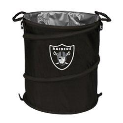 Logo™ Oakland Raiders Collapsible 3-in-1 Cooler/Hamper/Wastebasket