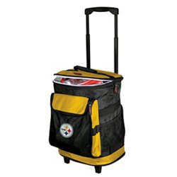 Logo™ Pittsburgh Steelers Rolling Cooler