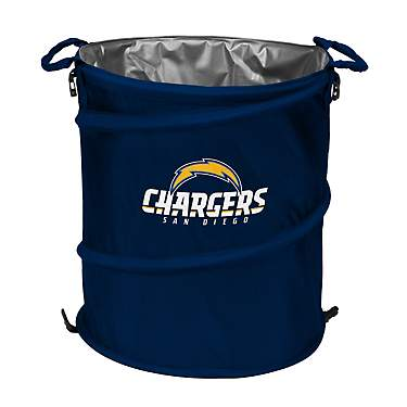 Logo™ San Diego Chargers Collapsible 3-in-1 Cooler/Hamper/Wastebasket