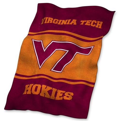 Logo™ Virginia Tech Ultrasoft Blanket