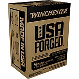 Winchester USA Forged 9mm Luger 115-Grain Handgun Ammunition