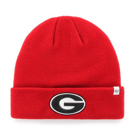 47 Men s University of Georgia Raised Cuff Knit Hat  682af7e33