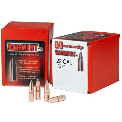 Hornady InterLock .22 Caliber Soft-Point Ammunition
