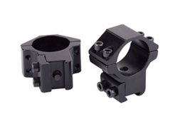 "Crosman 1"" Medium Profile Dovetail Rings 2-Pack"