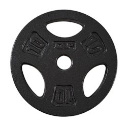 CAP Barbell 10 lb. Regular Grip Plate