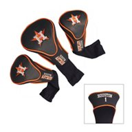 Team Golf Houston Astros Contour Sock Head Covers 3-Pack