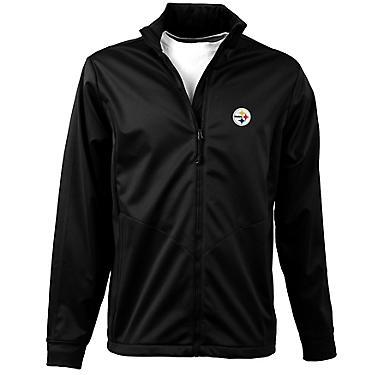 hot sale online afdc7 bb8b5 Antigua Men's Pittsburgh Steelers Golf Jacket