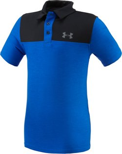 Under Armour Boys' Match Play Blocked Polo Shirt