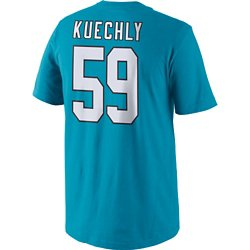 Nike Men's Carolina Panthers Luke Kuechly 59 Player Pride T-shirt