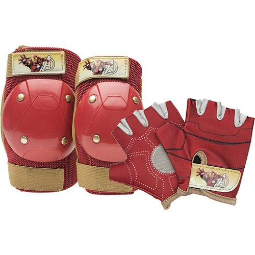 Bell Kids' Iron Man Protective Gear