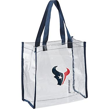reputable site cbdb8 6fbfb Forever Collectibles™ Houston Texans Clear Reusable Bag