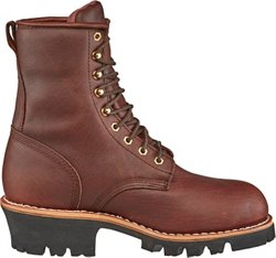 Men's Briar Insulated Waterproof Steel-Toe Logger Rugged Outdoor Boots