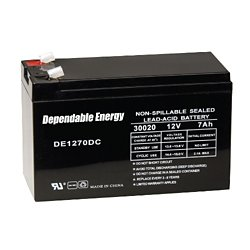 12V 7-Amp HR Rechargeable Battery